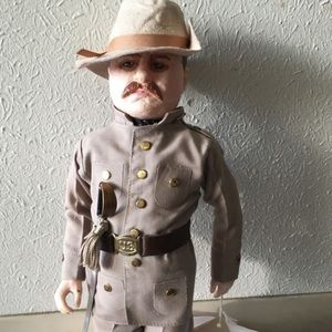 Teddy Roosevelt Famous Quote Doll